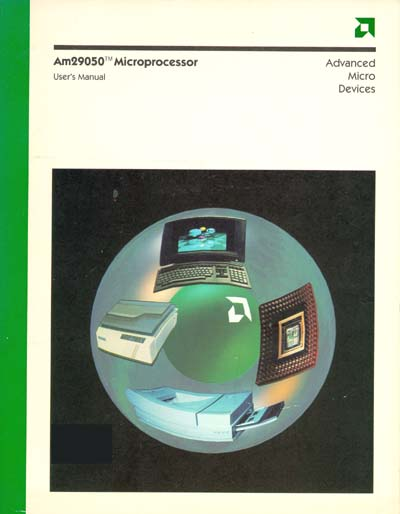 AMD Am29050 Microprocessor User's Manual