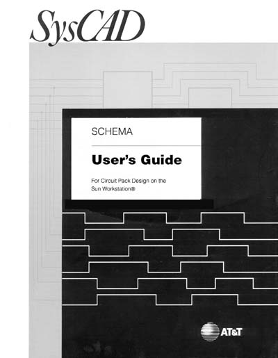 AT&T Bell Labs SCHEMA User Guide