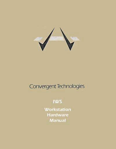 Convergent Technologies IWS Workstation Hardware Manual