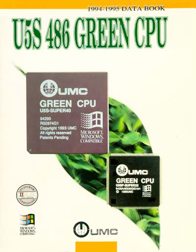 Technical Writer Umc X86 486 Green Cpu Data Book